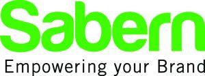 Sabern logo - zwart